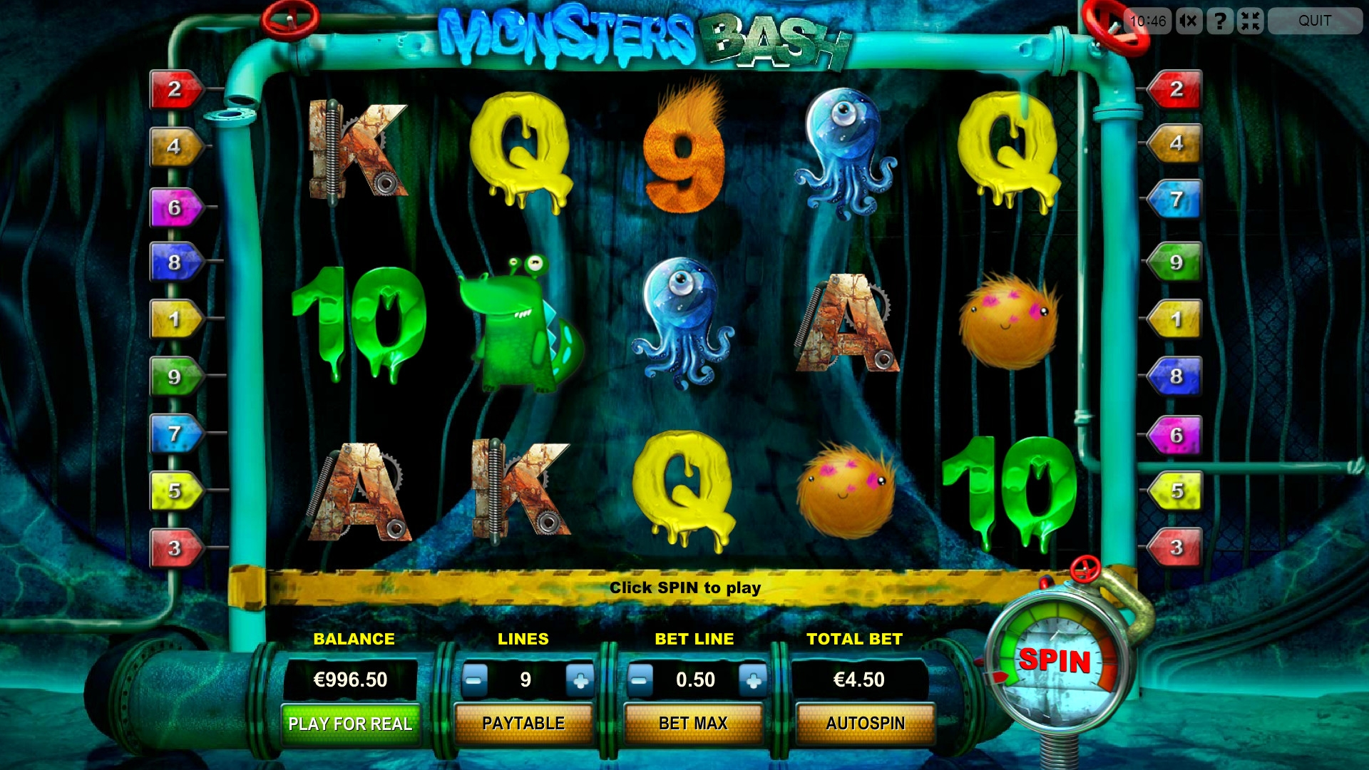 Monsters Bash Slot - Free to Play Online Casino Game